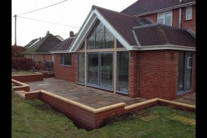 Glass Gable Extension